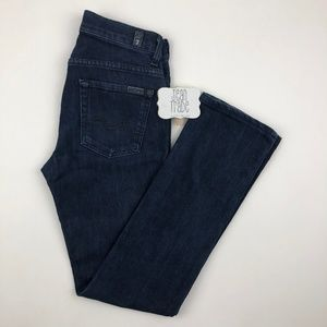 7 For all Mankind High Waist Straight Leg Jean